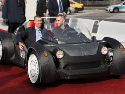 Elektroauto aus dem 3D-Drucker