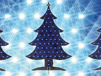 E-Tree: Programmierbarer Weihnachtsbaum von Elektor mit USB
