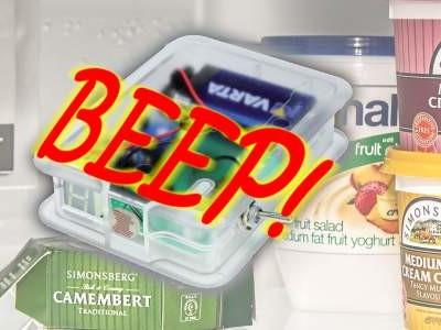 Programmierbarer Kühlschrank-Wächter im Selbstbau