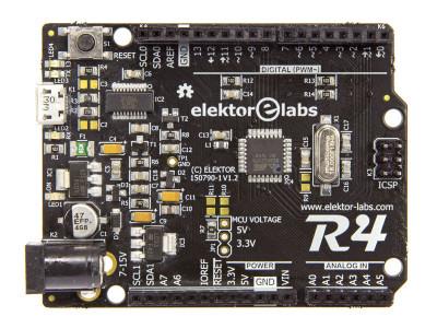 Installation und Test des UNO-R4-Boards von Elektor