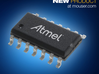 Atmel's 8-Bit ATtiny102/104 Microcontrollers Now at Mouser