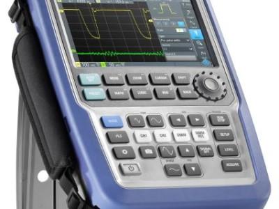Portables Oszilloskop mit High-End-Eigenschaften von R&S