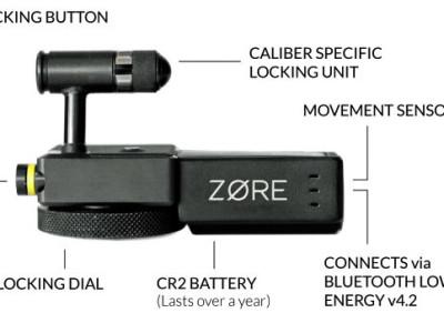 ZORE: Smart-Lock macht Schusswaffen sicherer