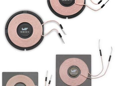 Passende Spulen für kabellose Leistungsübertragung finden: Würth stellt Auswahl-Tool vor