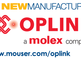 Mouser Signs Global Agreement with Oplink to Distribute Optical Components