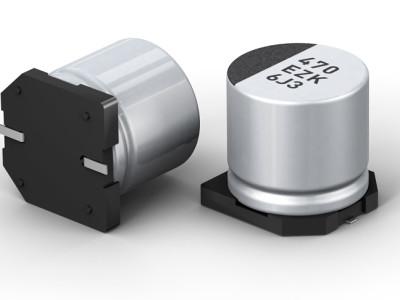 Hybrid-Kondensator: Elektrolyt + Polymer