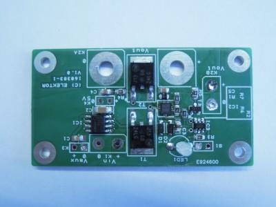 Soft start PCB