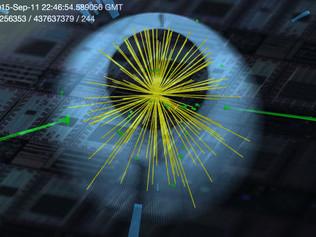 Quantencomputer sucht Higgs-Bosonen