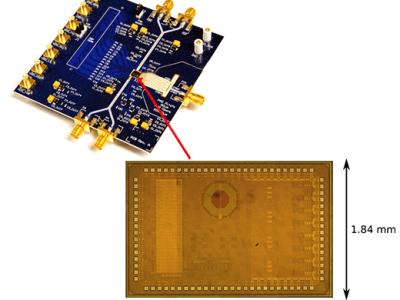 Effizienter HF-Sender mit 20-facher Bandbreite für 5G