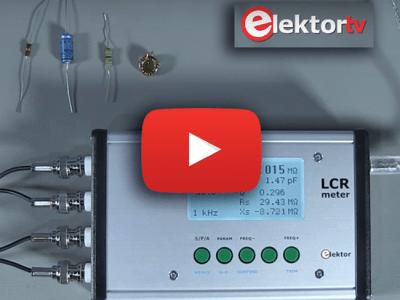 Elektor.TV   LCR-Meter mit 500ppm von Elektor
