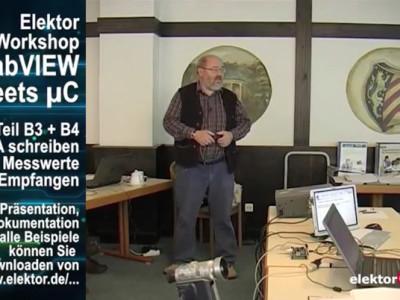 """Gratis für Elektor-Leser: Videokurs """"LabVIEW"""" (Teil 6)"""