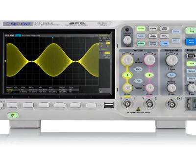 Die SDS1000X-E-Serie von Siglent: Super-Phosphor-Oszilloskop mit 200 MHz