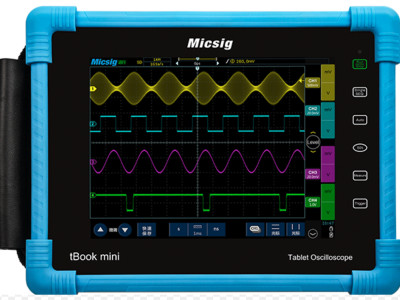 Review: Tablet-Oszilloskop Micsig TO1102