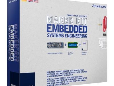 Neues Maker-Kit von Franzis: Embedded Systems Engineering