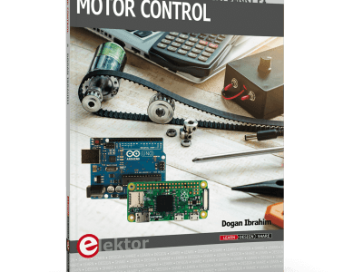 Buch: Motor Control – Projects with Arduino & Raspberry Pi Zero W