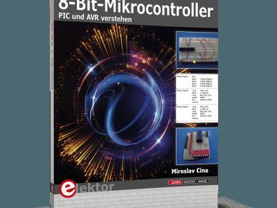 Neues Fachbuch zum Subskriptionspreis: 8-Bit-Mikrocontroller
