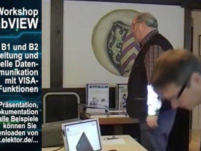 """Gratis für Elektor-Leser: Videokurs """"LabVIEW"""" (Teil 5)"""
