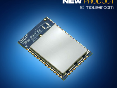 Mouser Electronics Now Shipping Digi International's XBee SX Modules