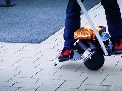 Fahrender Ball: Üo, der selbstbalancierende 360-Grad-Scooter