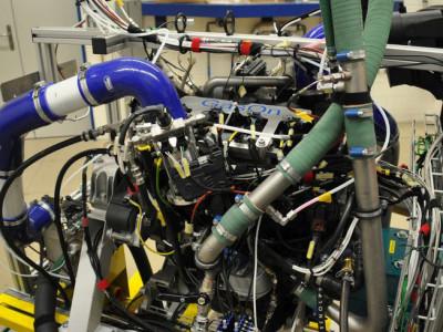 Rekord-Wirkungsgrad bei Gasmotoren
