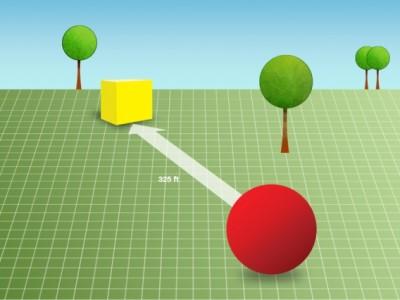 Entfernungsmessung per Smartphone