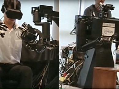 Avatar-Robotarm entwickelt
