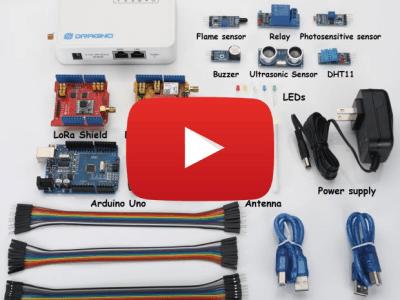 Things on Internet durch LoRa & Arduino