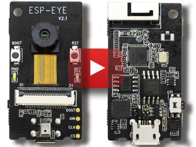 ESP-EYE: Augen, Ohren und Intelligenz für Ihre IoT-Anwendungen