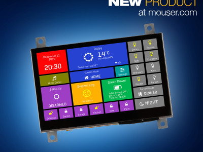 MikroElektronika's mikromedia HMIs Offer Bright Displays for Industrial Applications