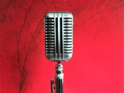 elektor labs crystal microphone