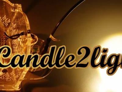 Candle2light – elektronische Steigerung der Lichtausbeute