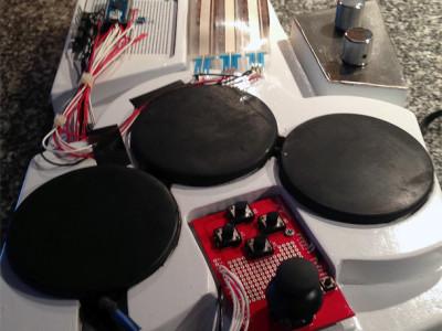 Gitarrensynthesizer mit Arduino