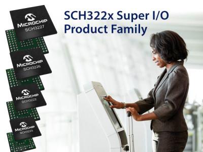 Neue I/O-Controller SCH322x von Microchip