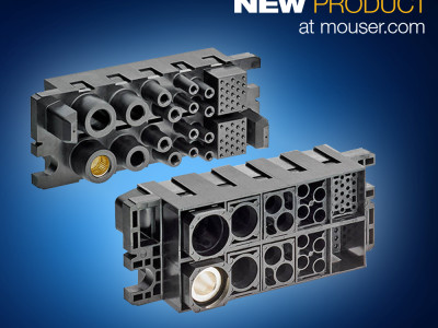 TE Connectivity's Modular High-Power FORGE Drawer Connectors Available from Mouser