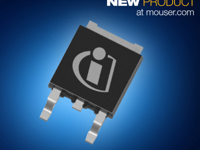 Mouser First to Stock Infineon's Efficient 800V CoolMOS P7 MOSFET Family