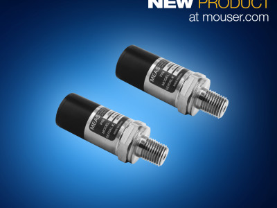 Dual-Input M5600 and U5600 Wireless Pressure Transducers from TE Connectivity Now Shipping from Mouser