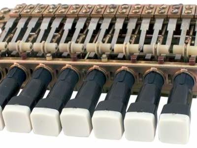 Tastenbank ohne Mikrocontroller im Selbstbau