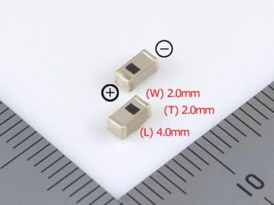 Ultraminiatur-Akku in SMD-Ausführung