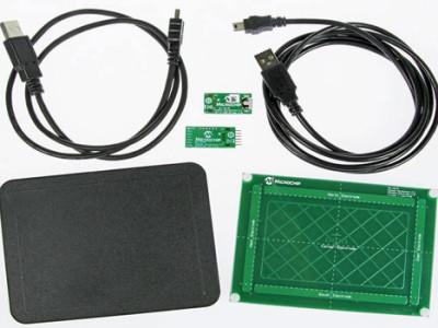 Schnäppchen von Elektor & Microchip: Gesture & Touch Control Development Kit