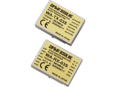 Neue Multikanal-Audiofunkmodule für 863 - 865 MHz