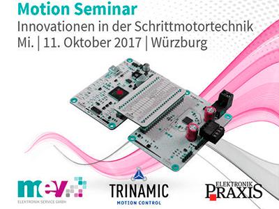Motion Seminar – Innovationen in der Schrittmotortechnik