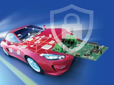 Fahrzeuginterne Netzwerke vor Hackern schützen – mit dem branchenweit ersten Automotive-Security-Entwicklungskit