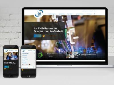 Neue Webseite von tbp electronics