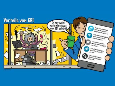 EDI-Plattform für einen effizienten Prozess