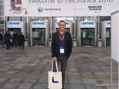 Besuch der electronica 2018