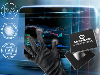 Single-Chip maXTouch® Touchscreen-Controller ermöglichen  20-Zoll-Touchscreens in Fahrzeugen