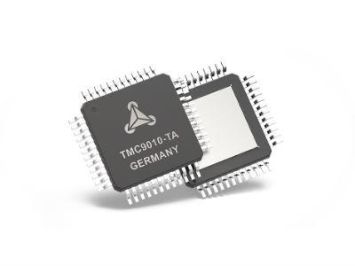 Trinamic präsentiert den weltweit ersten Motortreiber mit integriertem RISC-V-Prozessor als Single-Chip-Lösung