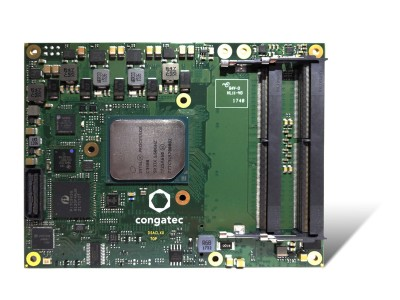 congatec verdoppelt RAM-Support für Server-on-Modules