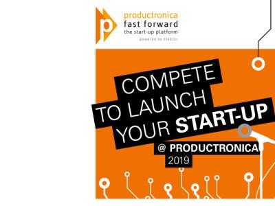 Elektronik-Start-ups: Pole-Position bei Fast Forward @ productronica 2019