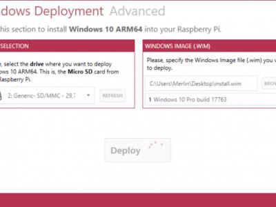 Windows 10 auf dem Raspberry Pi 3B+